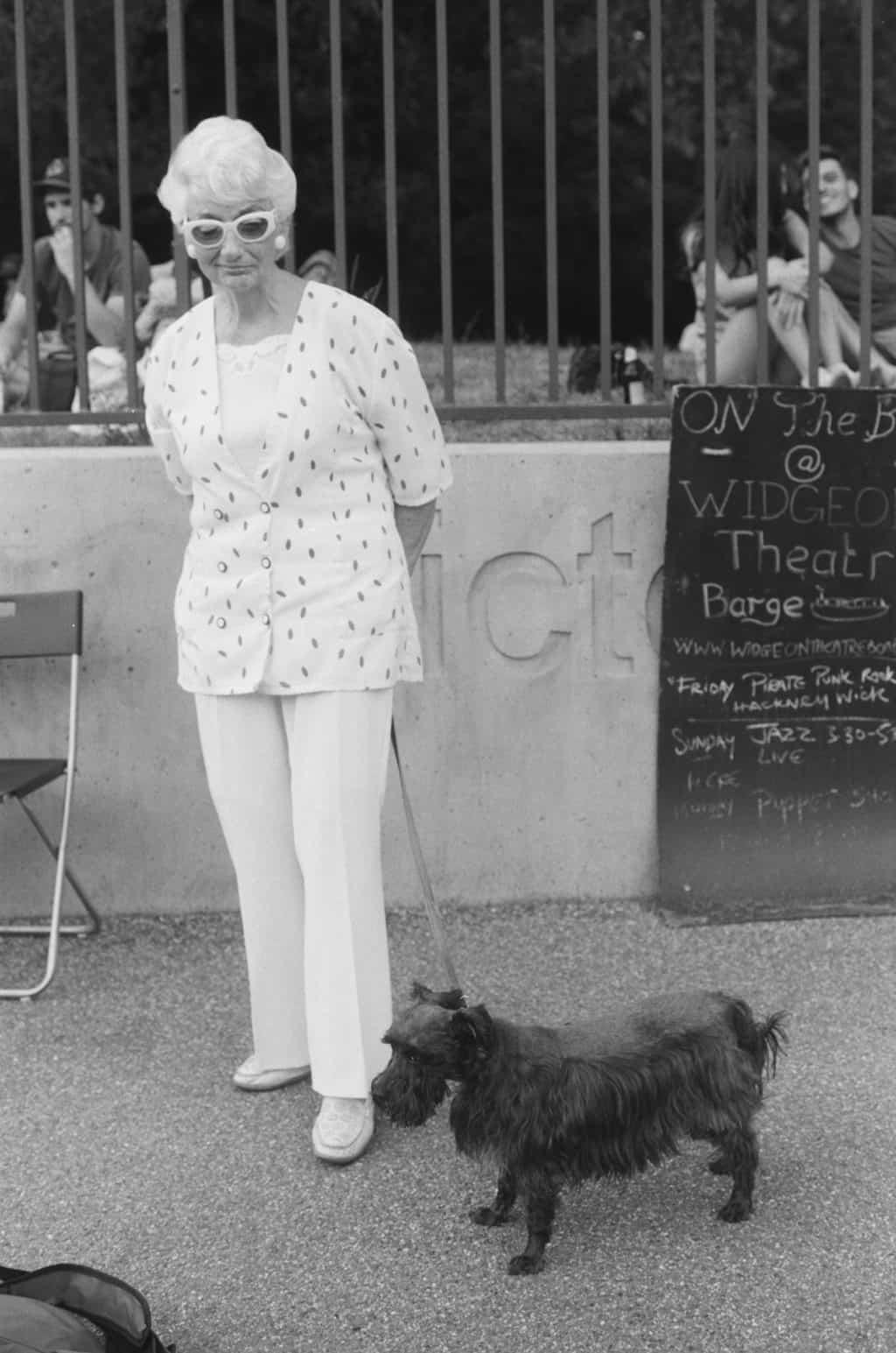 Photography by Justine Roland-Cal - Victoria Park Dog Walker, Hackney
