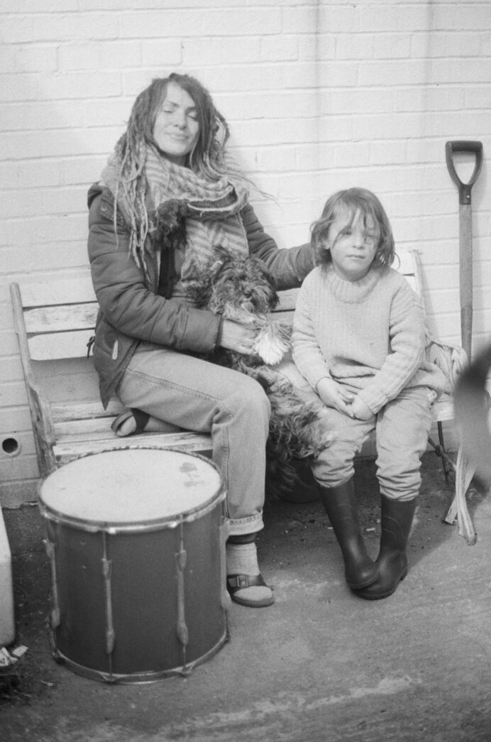 Photography by Justine Roland-Cal - Mother and son, Ramsgate